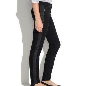 Madewell 9″ High-Rise Skinny Jeans: Velvet Tuxedo
